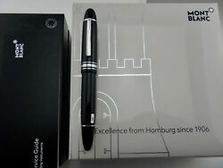 MONTBLANC Meisterstück 149 Hamburg Special Edition Platinum Plated Fountain Pen