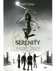 Joss Whedon Signed Serenity Authentic Autographed 11x14 Photo Psa/dna Af49095