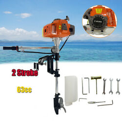 2 Stroke 4hp Outboard Motor Fishing Inflatable Boat Engine Cdi System Engine