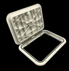 Innovative Product Solutions 520-103 11 X 15 Arctic White Boat Hatch
