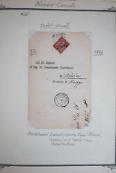 Italy Advanced Classic Stamp Cover Collection