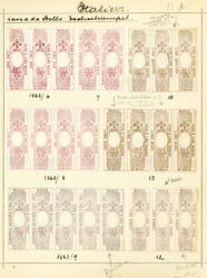 Italy Stamps 95x Bill Of Exchange 1863 Group Mint/used