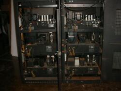 Pair of 3 Chassis 805 Tube Amplifiers Made under Western Electric