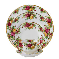 Royal Albert Old Country Roses 40pc China Set, Service For 8