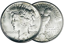 Peace Silver Dollars3 -1922-1925 Various Dates, Good To Vg