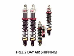 Elka Front And Rear Recreational Suspension Shock Kit M 8000 Sno Pro 162 2016