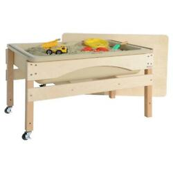 Wood Designs 11825tn Absolute Best Sand And Water Sensory Center With Lid