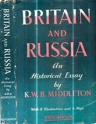 Rare 1950 Era Britain And Russia History 6 Maps And Prints Cia Agent Owner With Dj