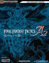 Final Fantasy Tactics A2 Grimoire Of The Rift Official Strategy Guide Officandhellip