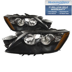 Fits 2012 Mazda Cx-7 Left And Right Headlights Set With Performance Lens
