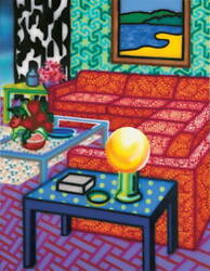 Howard Arkley - Delux Setting - Limited Edition Print - 1992 - Large Size - New