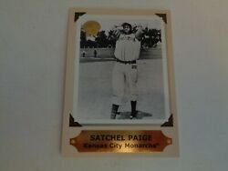 2001 Greats of the Game Retrospection Collection Satchel Paige Card #8 of 10 RC $2.99