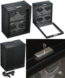 Wolf Designs 456702 Module 2.7 4PC Watch Winder with Cover
