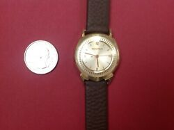 14kt GOLD BULOVA ACCUTRON 1961 ALPHA new battery and it is keeping perfect time
