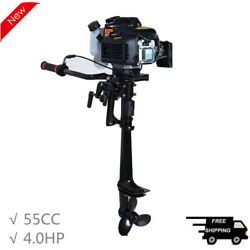 55cc 4.0hp 4 Stroke Outboard Motor Boat Engine Air Cooling System Cdi System