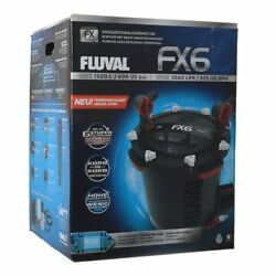 Fluval Fx6 High Performance Canister Filter 925 Gph Up To 400 Gallons