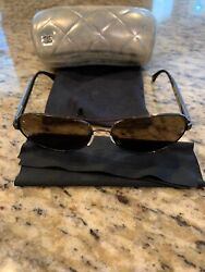 Chanel Aviator Sunglases Gradient Brown Miroir collection $199.00