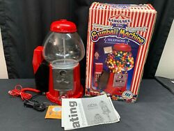 Carousel King Gumball Machine Telephone Gumballs Not Included