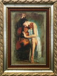 Tomasz Rut Cadenza | Large Hand Signed Giclee/canvas | 36x24 | Make An Offer