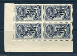 Ireland Sc95 And Variety Sg101 And 101a Corner Block Mint Lh And Bottom Stamps Nh