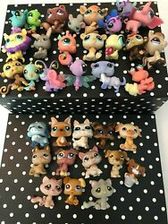 LITTLEST PET SHOP AUTHENTIC MIXED LPS PETS CATS DOGS X34