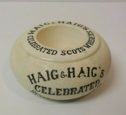 Haig And Haigand039s Celebrated Scots Whiskey English Match Holder / Striker 1906-1912