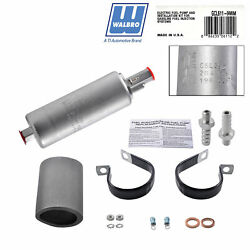 Walbro Electric Fuel Pump Gcl611 Inline 255lph 600hp Gsl392 And Kit