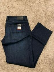 Buffalo David Bitton Jackson-X Jeans Mens Straight WStretch Dark Many Sizes New