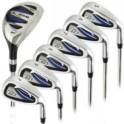 Ram Golf EZ3 Mens Right Hand Iron Set 5 6 7 8 9 PW FREE HYBRID INCLUDED $99.99