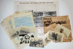 1917 - Small Archive Related To The Only Wwi U-boat Capture By The Allies