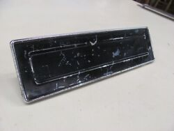 1954 54 Plymouth Savoy Radio Delete Block Off Plate Believed To Be Nos