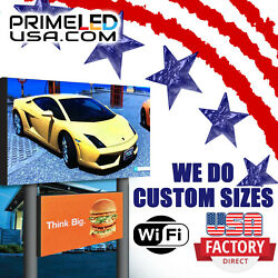Led Sign P10 Dip Full Color Indoor/outdoor Wifi Led 37.75 X 37.75 Double Sided