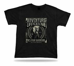 Adventure life is a climb my life my adventure t shirt tee stylish design