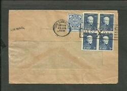 IRELAND TO BRAZIL COVER 1958 DUN LAOGHAIRE CANCEL VF