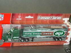 Nfl New York Jets Tractor-trailer-truck, New 2007 Issue