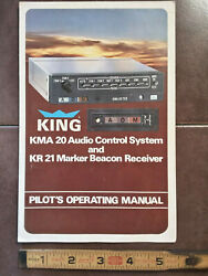 King Kma-20 Audio And Kr-21 Marker Pilotand039s Operating Guide