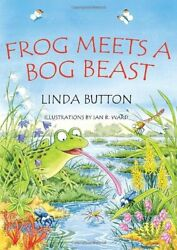 Frog Meets A Bog Beast My Animal Puzzle Book Series By Linda Button Book The