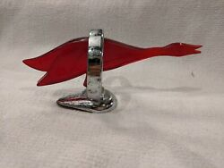 Vintage Rare Goose Or Duck Hood Ornament 40s
