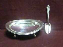 Vintage Unknown 800 Silver Bowl And Scoop 5 1/2 X 3 3/8 Sarked Star 29 Pd 96g
