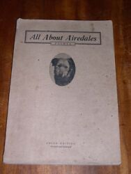 RARE AIREDALE TERRIER DOG BOOK BY PALMER 1913