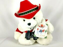 Santabear Conservation Corps 1995 Plush Toy 16in X 15in Dayton Hudson Corp