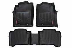 Rough Country Floor Liners Fits 2012-2015 Tacoma | Double Cab | 1st/2nd Row |
