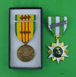 Vietnam Campaign Medal And Gi Issue Vietnam Service Medal Set 4 Campaign Stars