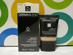 Dermablend Smooth Liquid Camo Coverage Foundation 30 W Bisque 1.0 Oz Boxed