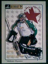 Roberto Luongo Beehive 5 X 7 Color Player Authentic Rookie Autograph Sp