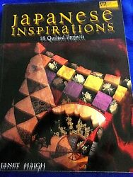 Quilting Japanese Inspirationjanet Haigh Kimonoandkite Quiltandmore Patterns