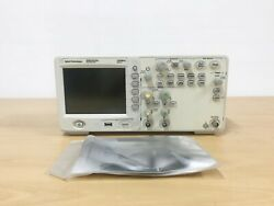 Agilent Dso1012a 100mhz 2gs/s 2ch Oscilloscope With P6100 Probes