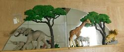 Martha Carey The Herd - Herd At Sunshine / At Safari Extremely Rare Mirrors 3d