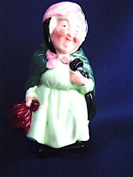 Superb Royal Doulton Sairey Gamp Figurine - Dickens Series 4 1/2 Mint Signed