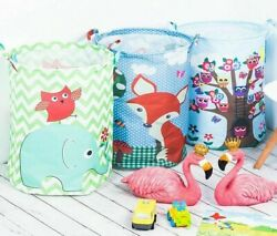 35*45cm Waterproof Storage Basket For Toy Dirty Laundry Basket Bag Clothes Toys
